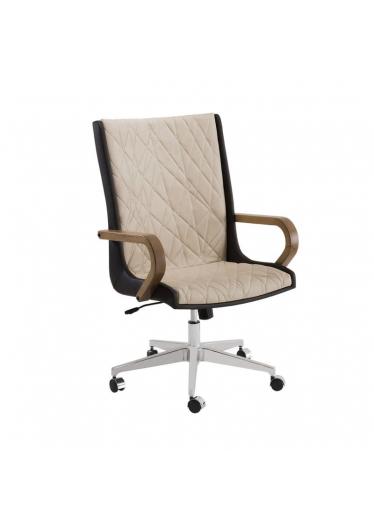 Cadeira Giratória Ninho Presidente Relax Base Alumínio Star Mobile Design by Studio Marta Manente