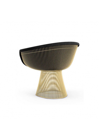 Poltrona Platner Estofada Estrutura em Aço Nolan Collection Design by Warren Platner