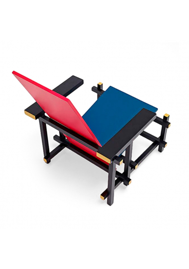 Poltrona Red and Blue Design by Gerrit Thomas Rietveld