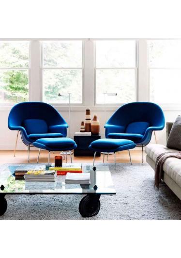 Poltrona Saarinen Berger Studio Clássica Design by Eero Saarinen