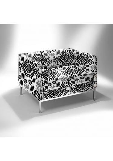 Poltrona Básica XL Estrutura Aço Inox Design by Studio Mais