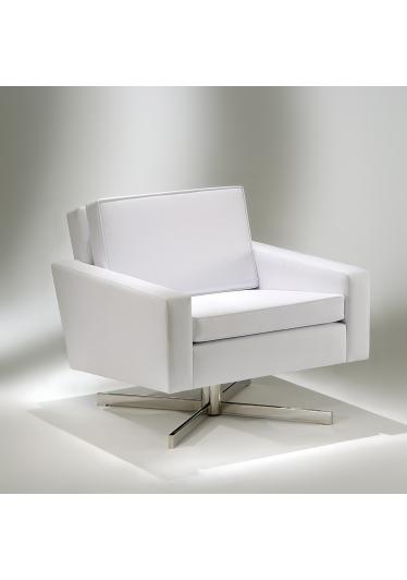 Poltrona FK Base Giratória Studio Mais Design by Florence Knoll