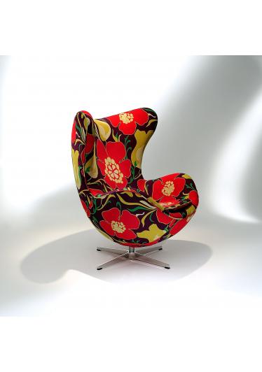 Poltrona The Egg Base Giratória Studio Mais Design by Arne Jacobsen