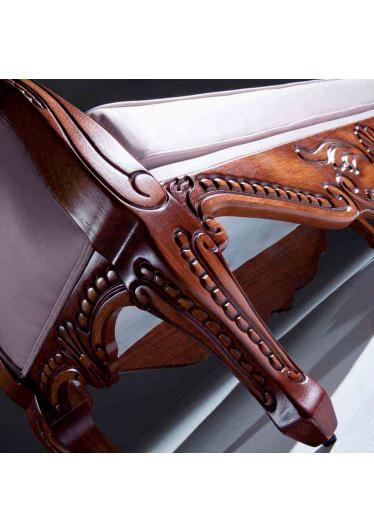 Recamier Lucca Madeira Maciça Design Clássico Avi Móveis