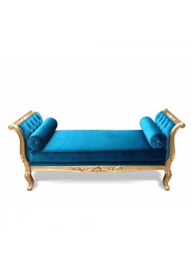 Recamier Luis XV Varias Medidas com Pinturas e Tecidos Personalizados