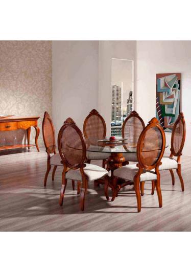 Cadeira Heart Madeira Maciça Design Clássico Avi Móveis