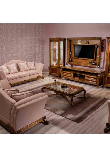 Painel Hillux Madeira Maciça Design Clássico Avi Móveis