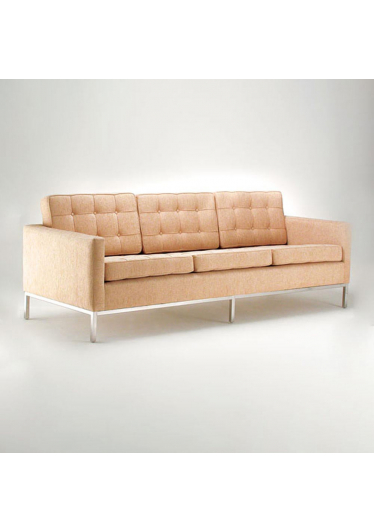 Sofá FK 3 Lugares Studio Clássica Design by Florence Knoll