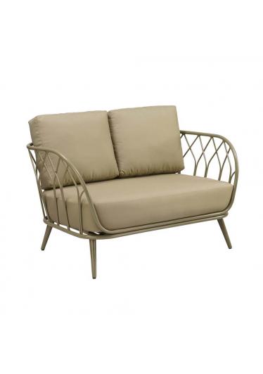 Sofá Melody para Área Externa Estrutura Alumínio Eco Friendly Design Scaburi