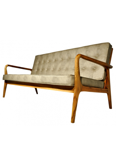 Sofa Anos 50 Couro