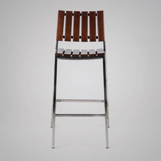 Banqueta Fillety Estrutura em Aço Inox Design by Studio Artesian