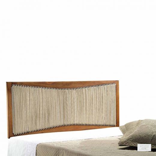 Cabeceira Lavitta com Corda Náutica Design by Studio Ozki