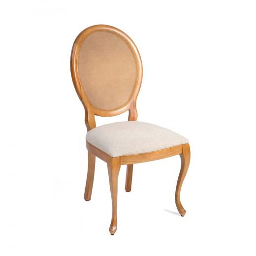 Cadeira Aurora Luis XV Madeira Maciça Design Clássico Avi Móveis