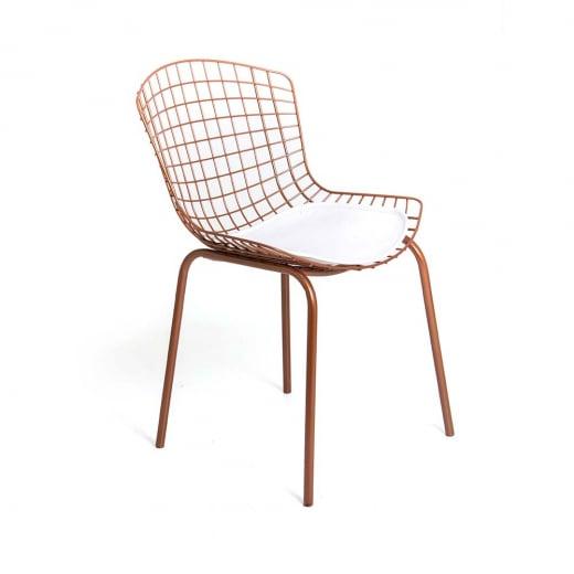Cadeira Clint Estrutura Aço Carbono Design Atemporal e Moderno Casa A Móveis