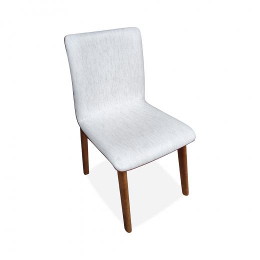 Cadeira Cristal Estofado Anatômico Design Contemporâneo Casa A Móveis