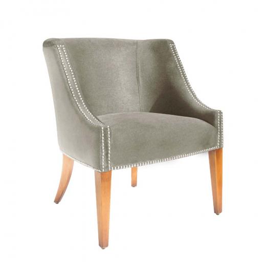 Cadeira de Aproximação Enzo Base Madeira Maciça Design Clássico Avi Móveis