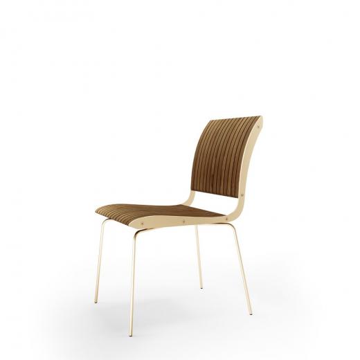 Cadeira Falx Madeira Maciça Jequitibá Coleção Bari Tremarin Design by Fernando Sá Motta