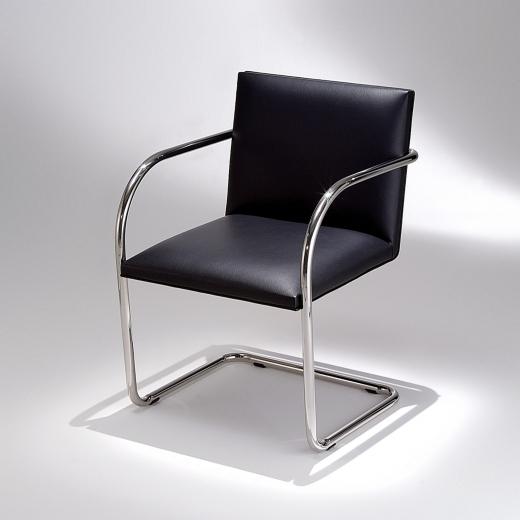 Cadeira MR 245 Aço Inox Studio Mais Design by Mies Van Der Rohe