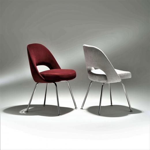 Cadeira Saarinen 72 Estrutura Aço Inox Studio Mais Design by Eero Saarinen