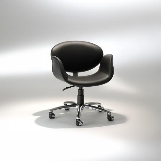 Cadeira Tulipa Office Base Giratória em Alumínio Studio Mais Design by Pierre Paulin