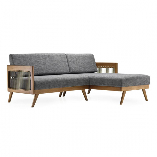 Chaise Saibi Corda Náutica Design by Studio Ozki