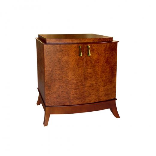 Cômoda Lunardi com Portas Personalizado Madeira Maciça Design Clássico