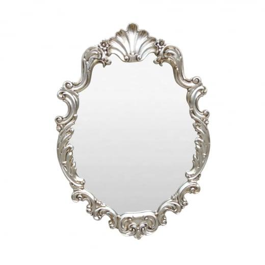 Espelho Poseidon Moldura Resina Entalhada Design de Luxo