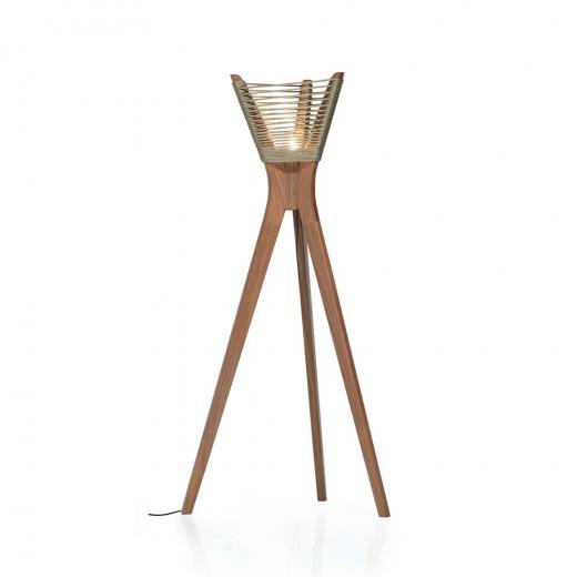 Luminária Moza com Corda Náutica Design by Studio Ozki