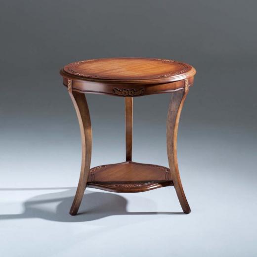 Mesa de Apoio Ellos Decorativa Madeira Maciça Design Clássico Avi Móveis