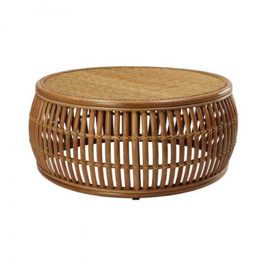 Mesa de Centro Glimpse Junco Envelhecido Estrutura Apuí Eco Friendly Design Scaburi
