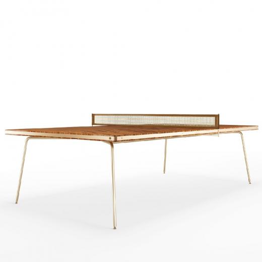 Mesa de Jantar Falx Edição Ping Pong Coleção Bari Tremarin Design by Fernando Sá Motta