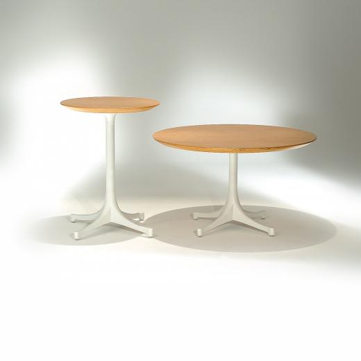 Mesa Lateral Café Estrutura Alumínio Pintura Fosca Studio Mais Design by George Nelson