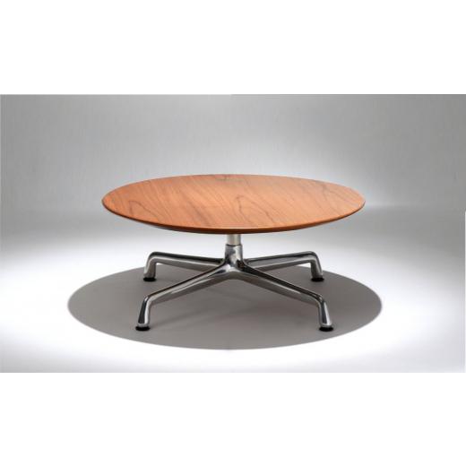 Mesa de Centro Charles Eames Estrutura Alumínio Coluna Aço Inox Studio Mais Design by Charles e Ray Eames