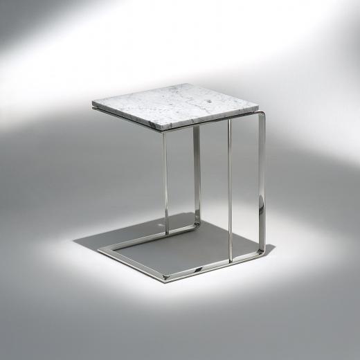 Mesa Lateral Deck Estrutura Aço Inox Design by Studio Mais