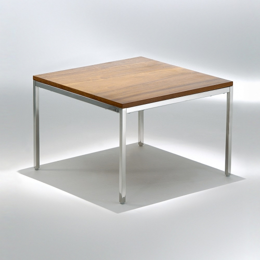 Mesa Lateral FK1 Estrutura Aço Inox Studio Mais Design by Florence Knoll