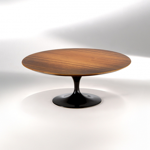 Mesa de Centro Saarinen Estrutura Alumínio Pintura Brilhante Studio Mais Design by Eero Saarinen