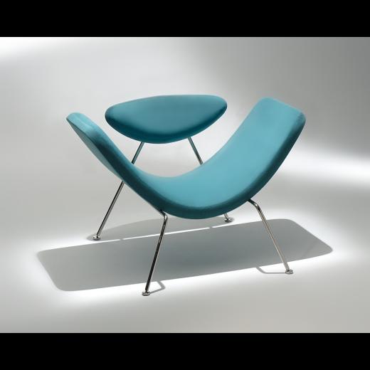 Poltrona Martin Eisler Estrutura Aço Inox Studio Mais Design by Martin Eisler