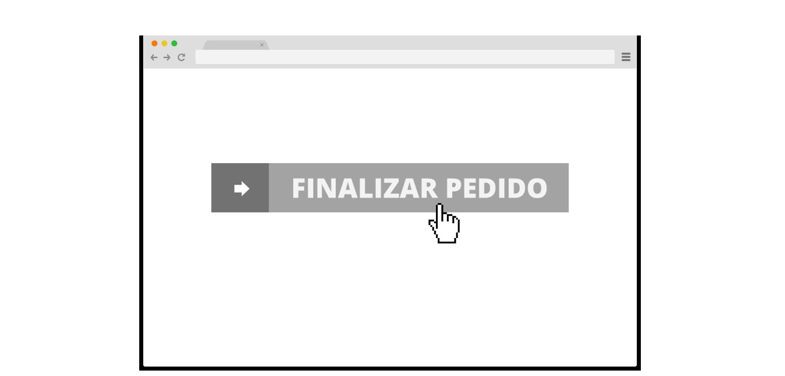 Botão finalizar pedido - Atelier Classico